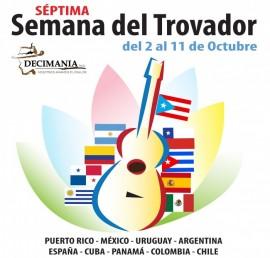 La actividad será del 2 al 11 de octubre, con la participación de algunos de los mejores trovadores e improvisadores de Argentina, Cuba, México, Panamá, Uruguay, Colombia, Chile, España y Puerto Rico. (Suministrada)