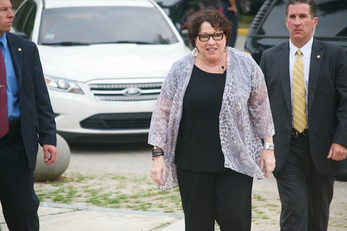 Sonia Sotomayor se encuentra de visita en Puerto Rico como parte del proyecto que dirige del Instituto de Estudios Judiciales. (Suministrada)