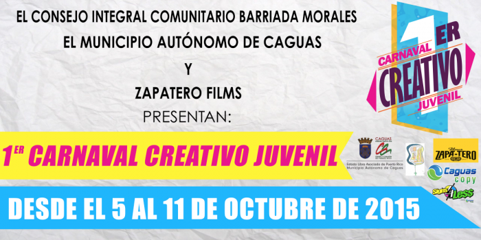 el evento es resultado de la colaboración entre el Consejo Integral Comunitario de Barriada Morales, Filmes Zapatero y el Municipio Autónomo de Caguas. (Suminsitrada)