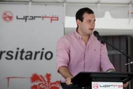 Christian Arvelo Forteza, líder estudiantil graduado ante la Junta de Gobierno de la UPR. (Facebook)