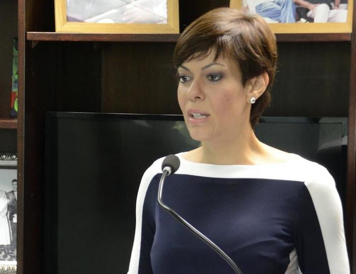 María de Lourdes Santiago. (Facebook)