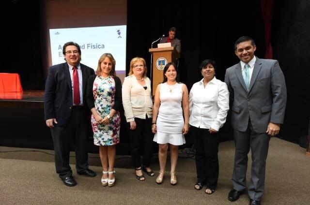 De izquierda a derecha Mario Medina Cabán, Sandra Marcela Mahecha, Doris Gascot, Marialucia Paz, Maribel Parra y Ramón Orta. (Suministrada)