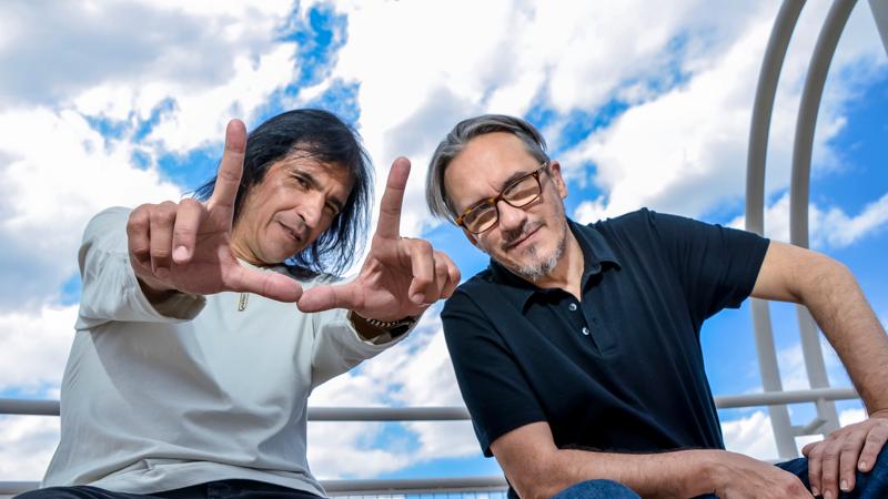 Marciano Cantero y Felipe Staiti (Facebook)