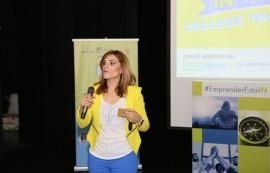 Alessandra Correa pretende con su proyecto INPRENDE inspirar y asesorar a jóvenes en la creación de sus propuestas empresariales. (Edwin Ríos/UPRA)