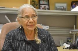 Aracelia Batista, registradora asociada del Recinto de Río Piedras. (Michelle Estades / Diálogo UPR)