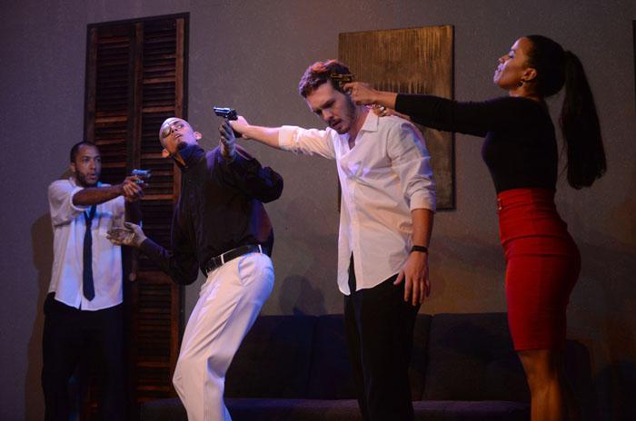 La obra se presentó el pasado fin de semana en el teatrito de la UPR-RP. (Ricardo Alcaraz/Diálogo)