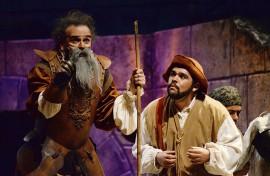 Don Quijote y Sancho Panza. (Ricardo Alcaraz/ Diálogo)