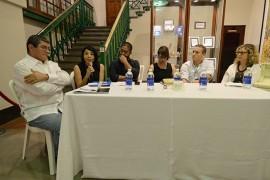 Panel en el Festival de la Palabra. (Suministrada)