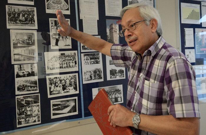Juan M. Aponte Hernández es el registrador con más años de experiencia en la Universidad de Puerto Rico. (Ricardo Alcaraz / Diálogo UPR)