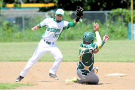 El béisbol finalizará el lunes la jornada regular del torneo. (L. Minguela LAI)