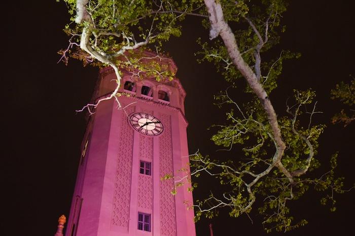 Encendido Rosado Torre UPR. (Suministrada)
