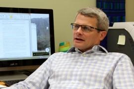 Gregory Quirk, investigador del RCM. (Ronald Ávila/ Diálogo)
