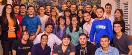 Algunos de los miembros de Idea Platform. (Suministrada)