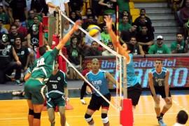 Los Tarzanes del Colegio versus Pitirres de la UNE. (Luis F. Minguela LAI) (2)