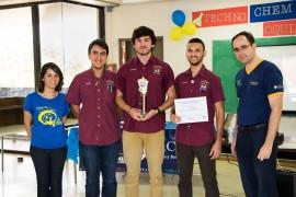 Miembros del Círculo de Química de la UPR de Cayey. (Suministrada)