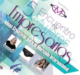 Flyer del 5to Encuentro de Mujeres Empresarias. (Suministrada)