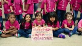 Foto de una de las actividades de UPRB para De rosa por una causa. (Suministrada)