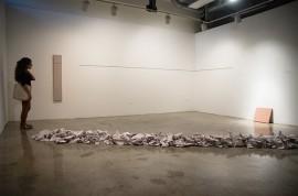 Una de las piezas de la exposición de Sánchez Rodríguez. (Suministrada)