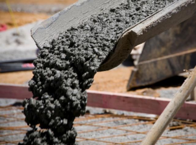 La mezcla de cemento. (Suministrada)