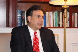 Eduardo Bhatia, presidente del Senado. (Glorimar Velázquez / Diálogo)