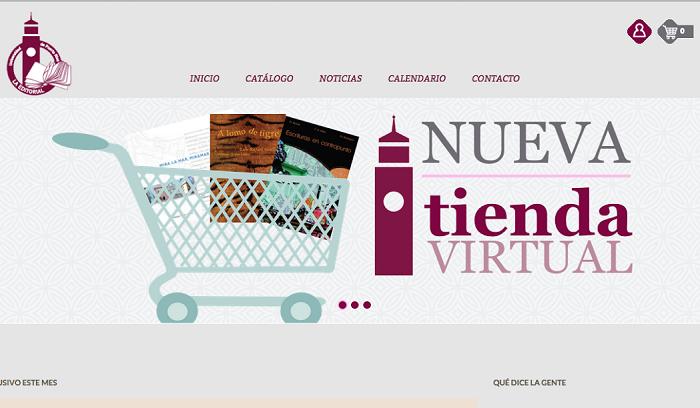 Mucho más ágil y atractiva, la nueva página facilita la navegación y la tienda virtual cuenta con todo el fondo disponible para la venta. (Suministrada)