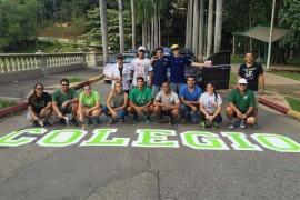 Un centenar de voluntarios participó de la exitosa actividad. (Prensa RUM)