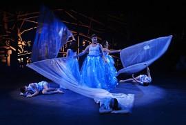 La obra es producto de la clase de Actividades Dramáticas II, ofrecida por Carola García. (Ricardo Alcaraz/Diálogo)