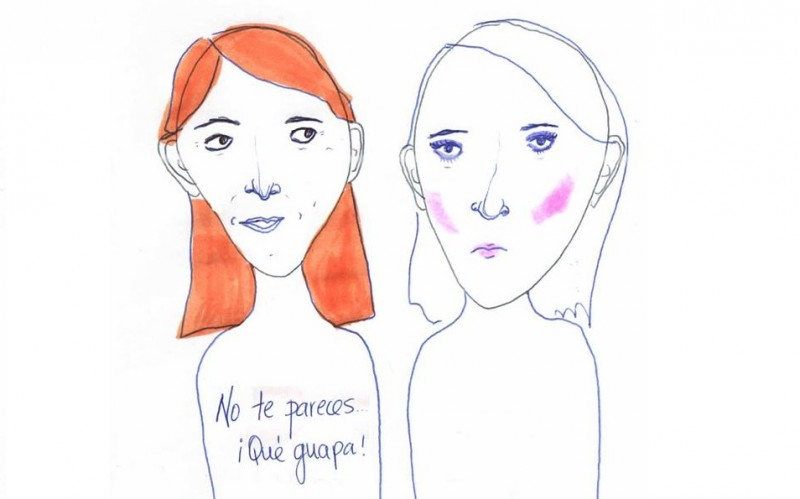 Esto del maquillaje es falsa autoestima. (Check-in/Facebook)