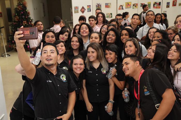 Estudiantes visitan UPR Carolina para ser universitarios Casa Abierta 2015 (Suministrada)