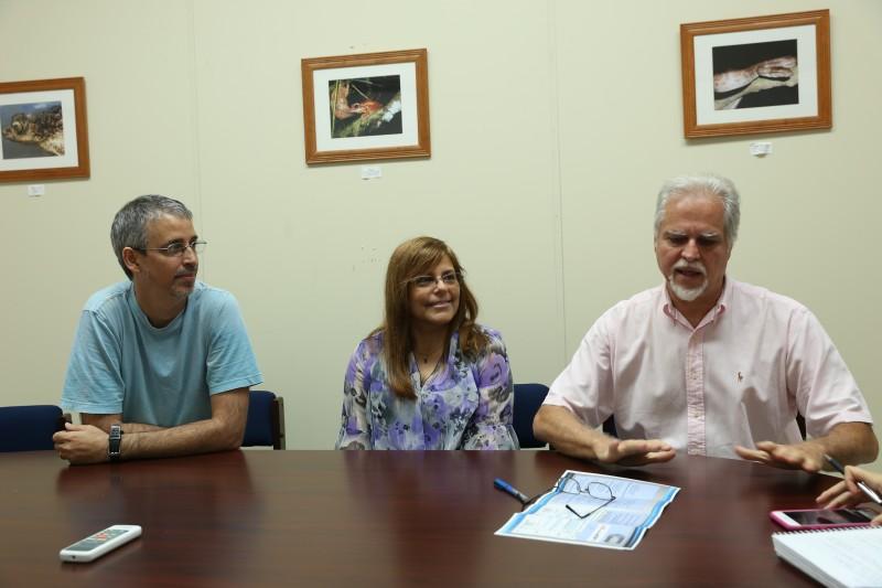 Foto 2-Equipo de investigadores proyecto Big Data- Dr. Humberto Ortiz, Dra. Maria Eglee Pérez y el Dr. Arrarás