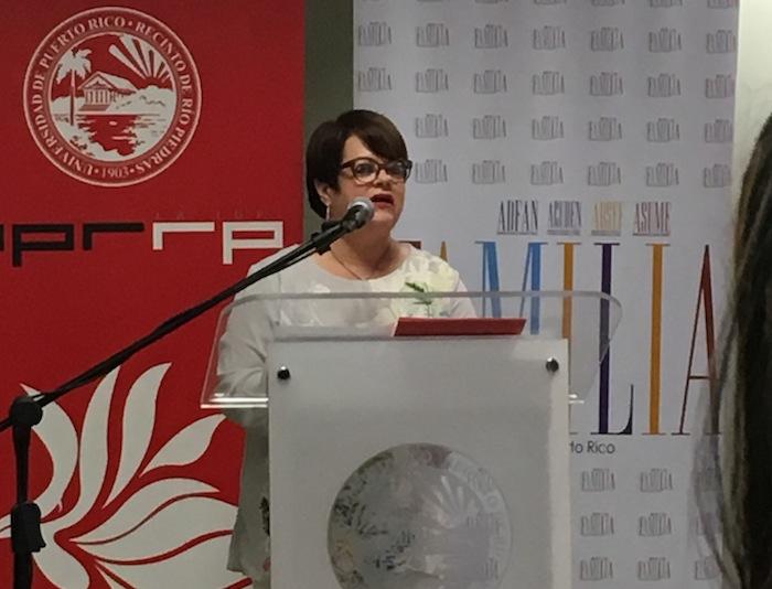 La secretaria del Departamento de la Familia, Idalia Colón Rondón. (José Karlo/ Diálogo)