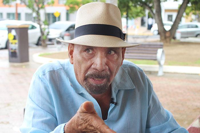 Andrés Jiménez, trovador puertorriqueño. (Bryan Báez / Diálogo)