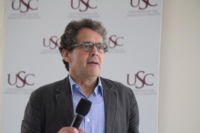 James Breiner es profesor en la Universidad de Navarra, y se ha destacado, entre otras cosas, por su participación en el Centro Internacional para Periodistas. (Cristian Arroyo/Diálogo)
