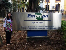 Profesora en Brasil. (Suministrada)