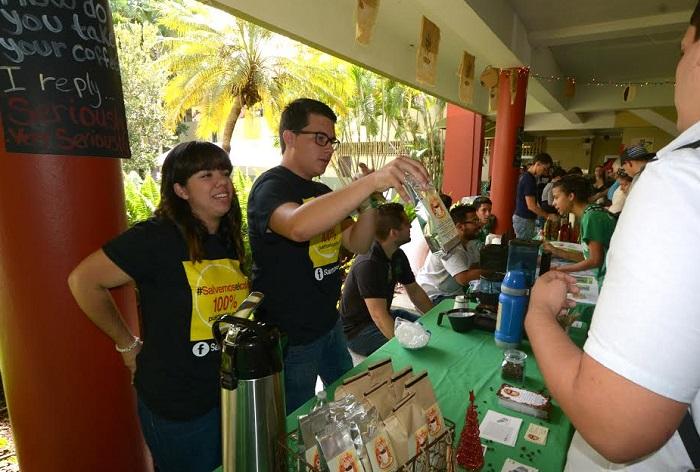 Participaron Café del Alba, Altogrande y Gran Batey, entre otros exhibidores relacionados con la industria. (Suministrada)