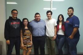 Estudiantes seleccionados para para formar parte del programa University Innovation Fellows. (Suministrada)