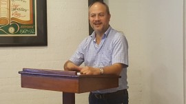 Dr. William Ríos presetación libro. (Suministrada)
