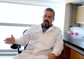 Doctor Abel Baerga, catedrático asociado del RCM. (Adriana De Jesús Salamán).