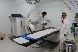 La unidad de Litotricia Laser del Hospital UPR  cuenta con tecnologia ultimo modelo. (Suministrada)