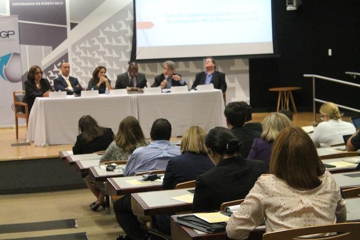 El estudio fue presentado en la Escuela de Derecho de la Universidad de Puerto Rico. (Ronald Ávila Claudio / Diálogo)