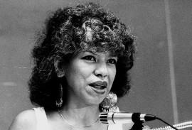 Ángela María Dávila/nov. 1987/foto por Ricardo Alcaraz Díaz