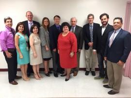Delegación de la Universidad de Yale, el RCM y el FCTIPR. (Suministrada)