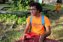 Edison Martínez Monegro, uno de los ganadores de la beca Gilman (2)