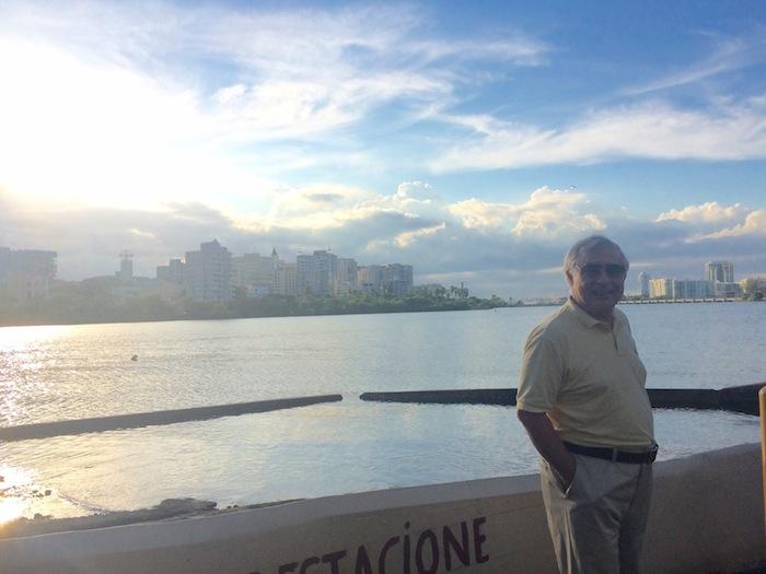 Ingeniero César A. Carrero, residente del condominio Le Rivage, en Condado.. (Suministrada)