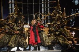 Madonna presentó un espectáculo con sobre una veintena de temas por dos horas y media. (Suministrada)