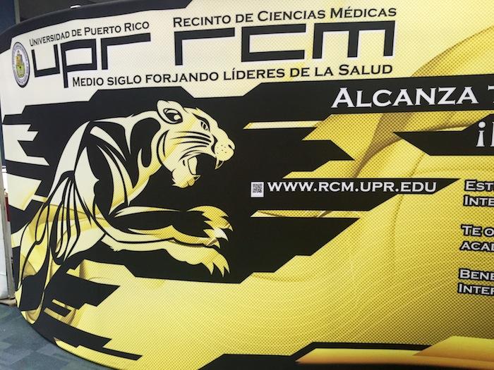 Recinto de Ciencias Médicas-Expo UPR 2016. (Suministrada)