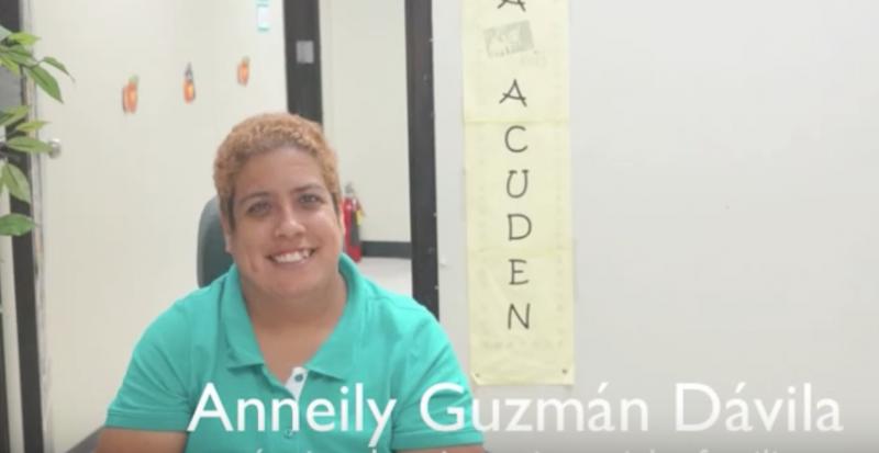 Anneily ''Annie'' Guzmán Dávila vive sin límites. (Suministrada)