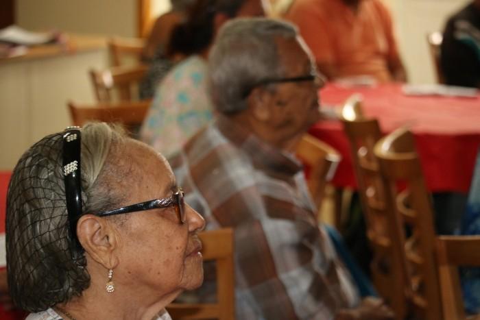 Alrededor de 35 adultos envejecientes participaron de la actividad.