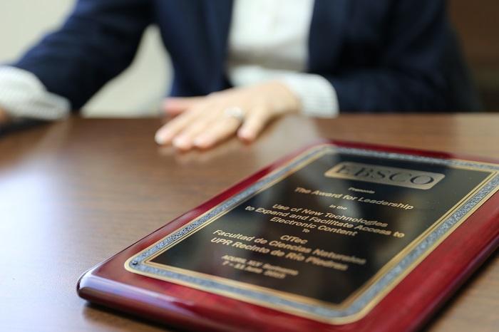 El CITec recibió dicho galardón en la conferencia anual de la Asociación de Bibliotecas Universitarias de Investigación e Institucionales del Caribe. (Suministrada)