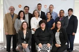 Ganadores de Small Research Grants Program junto a directivos del FCTI y Universidad de Puerto Rico